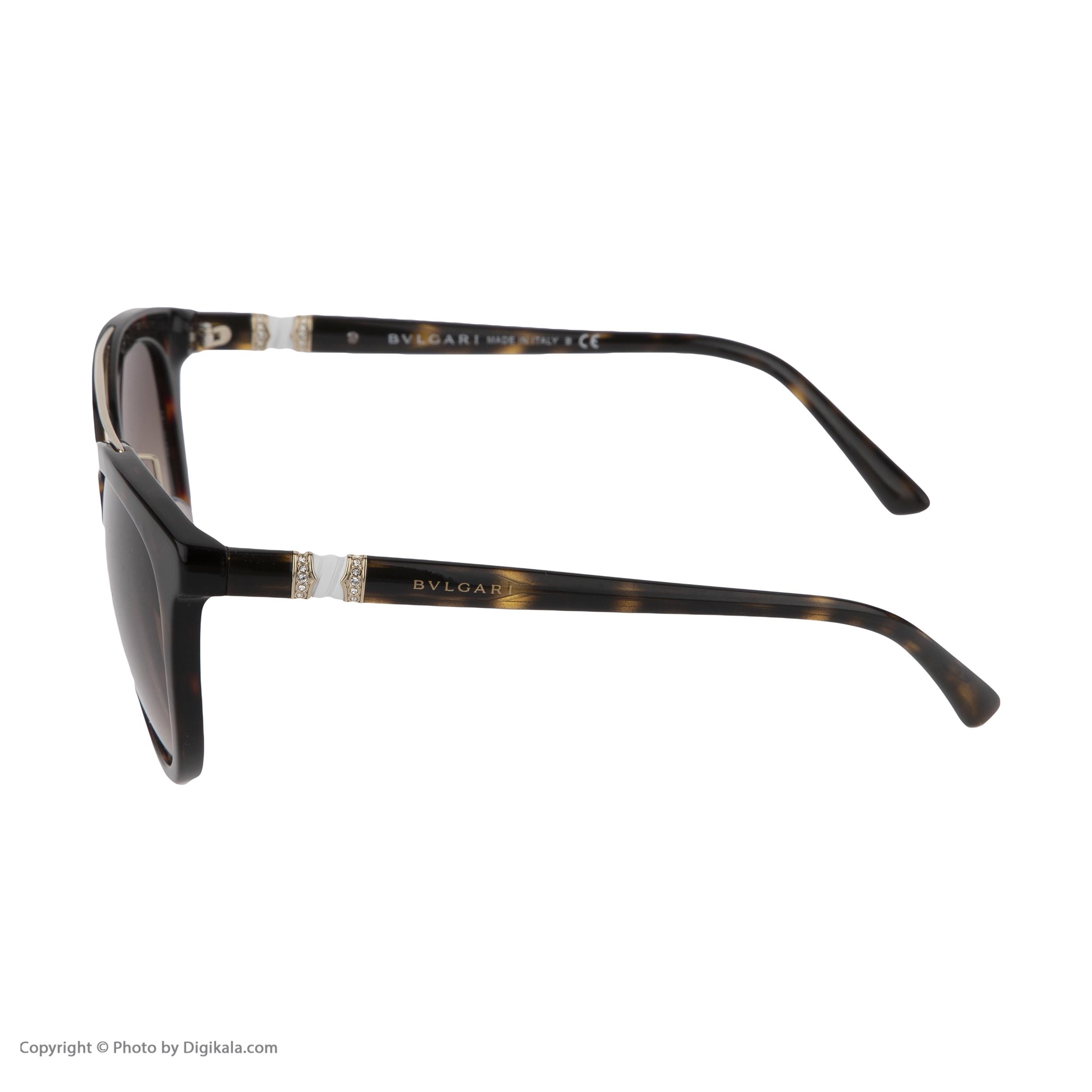 عینک آفتابی زنانه بولگاری مدل BV8184B 50413 -  - 4