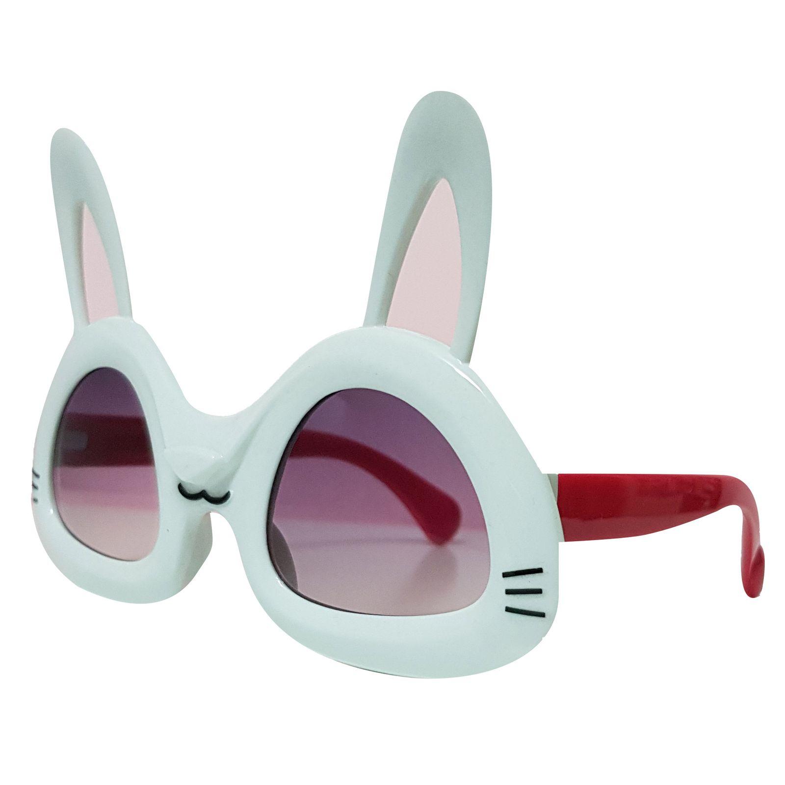 عینک آفتابی بچگانه طرح خرگوش کد KD61004 -  - 3