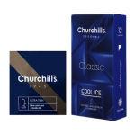 کاندوم چرچیلز مدل Cool Ice بسته 12 عددی به همراه کاندوم چرچیلز مدل Ultra Lubricant بسته 3 عددی thumb