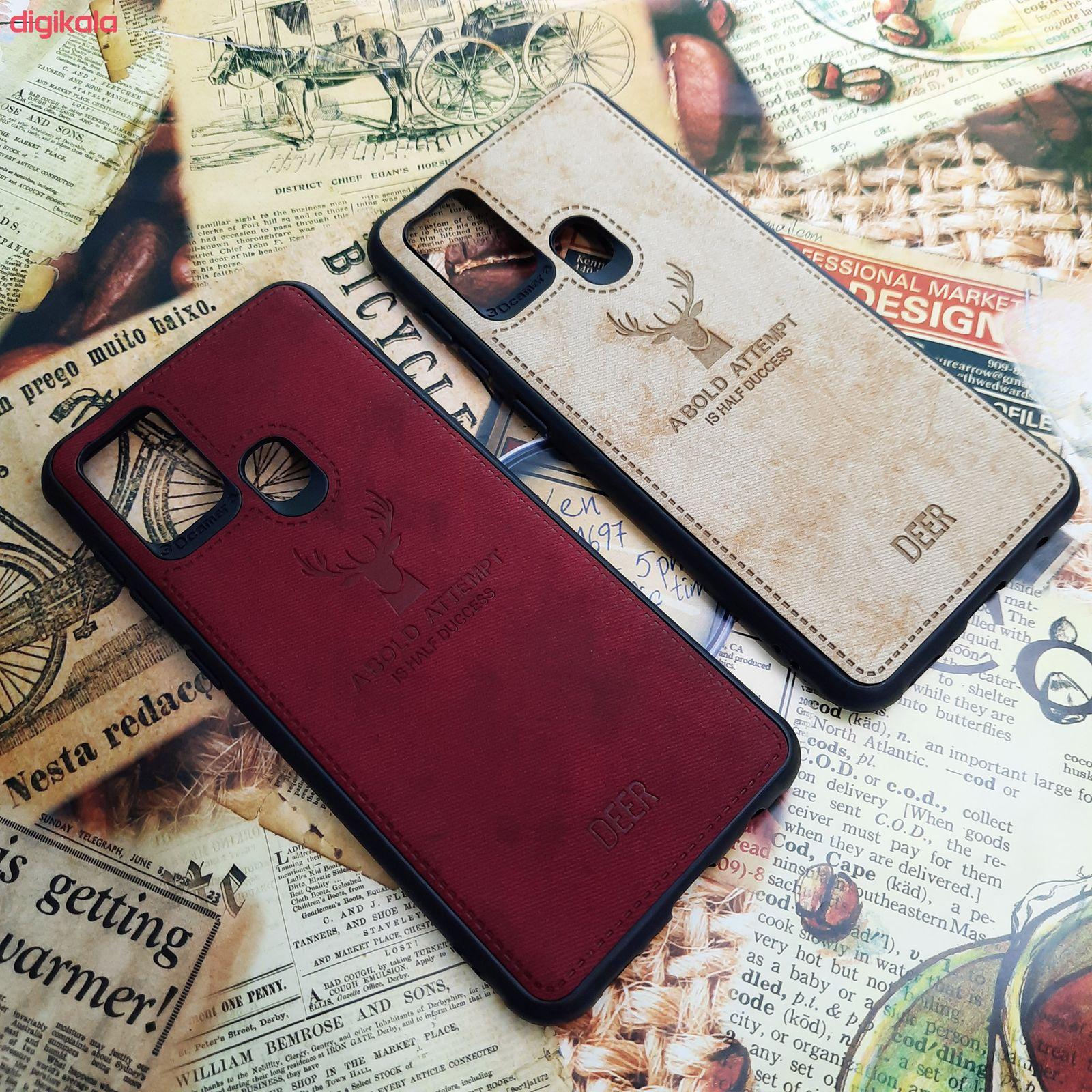 کاور مدل CO508 طرح گوزن مناسب برای گوشی موبایل سامسونگ Galaxy A21s main 1 3