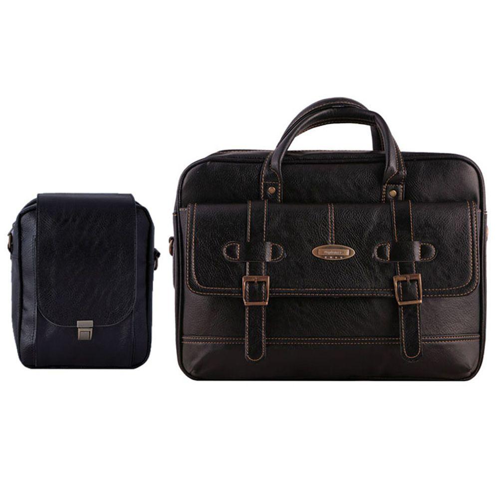 کیف چرم ما مدل SM-2 مجموعه 2 عددی
