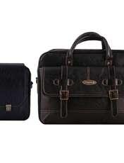 کیف چرم ما مدل SM-2 مجموعه 2 عددی -  - 1