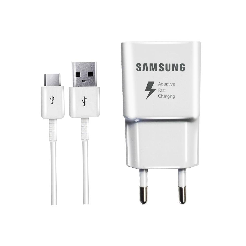 شارژر دیواری سامسونگ مدل ETA-S90RWS به همراه کابل تبدیل USB-C