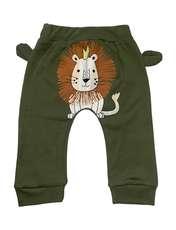 ست تی شرت و شلوار نوزادی طرح شیر کد FF-079 -  - 3