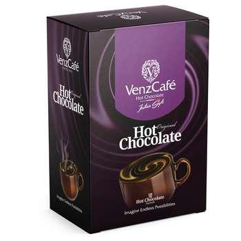 پودر شکلات داغ ونزکافه بسته 10 عددی