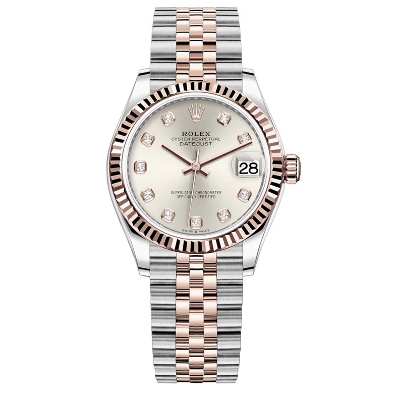ساعت مچی عقربه ای زنانه مدل دیت جاست کد HC3001              ارزان