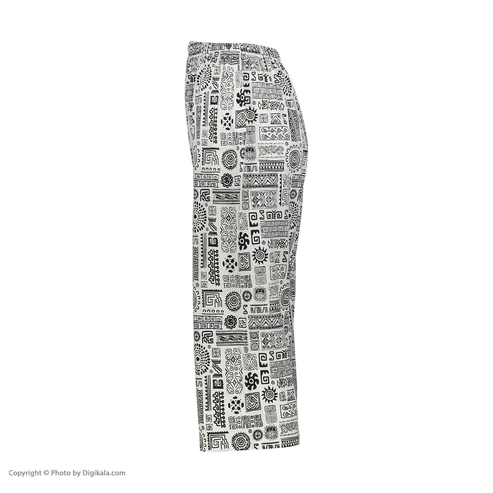 ست تاپ و شلوارک زنانه کد 0225 رنگ مشکی -  - 5