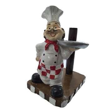 پایه رول دستمال کاغذی کد 040 طرح آشپز