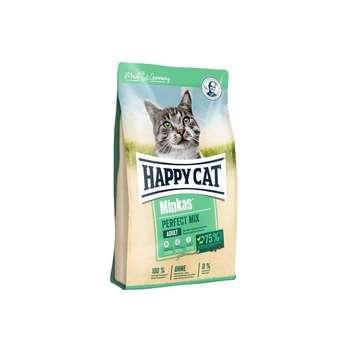 غذای خشک گربه هپی کت مدل Minkas Mix وزن 1500 گرم