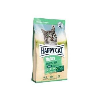 غذای خشک گربه هپی کت مدل Minkas Mix وزن 4 کیلوگرم