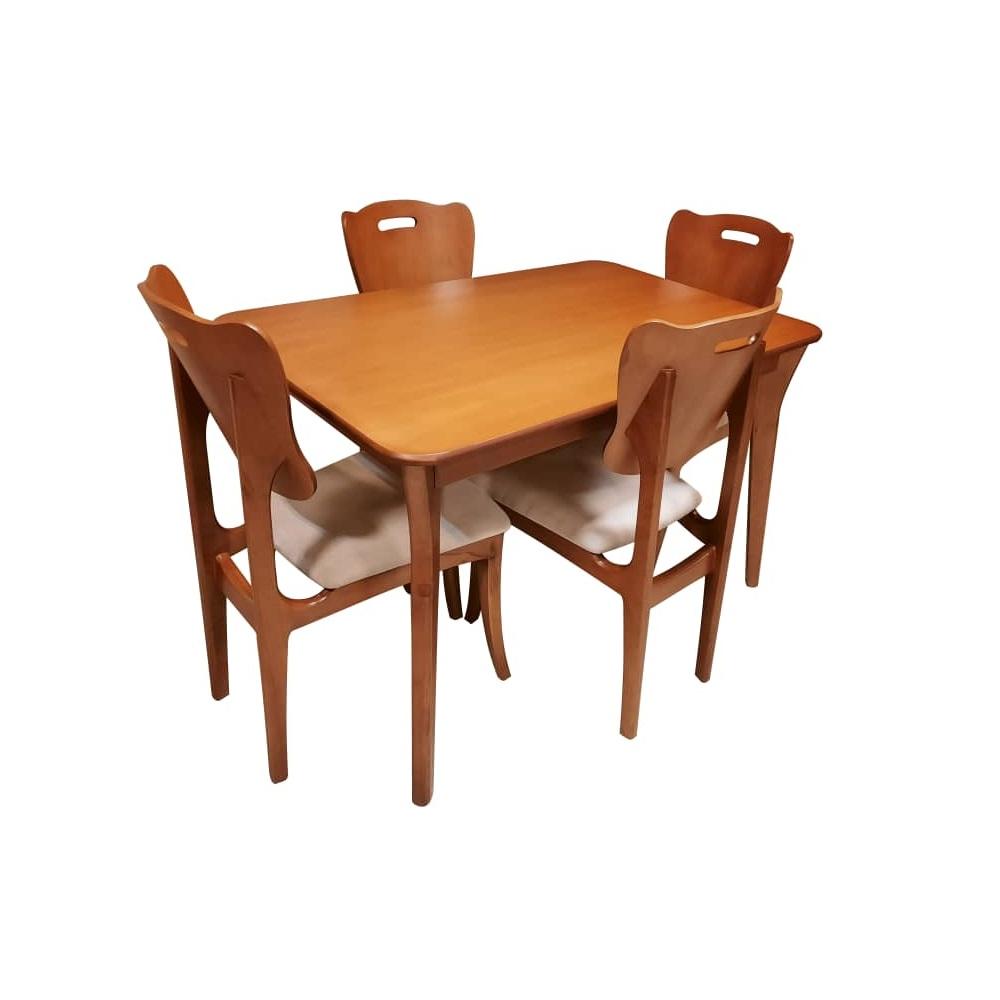 میز و صندلی ناهارخوری مدل فلورا