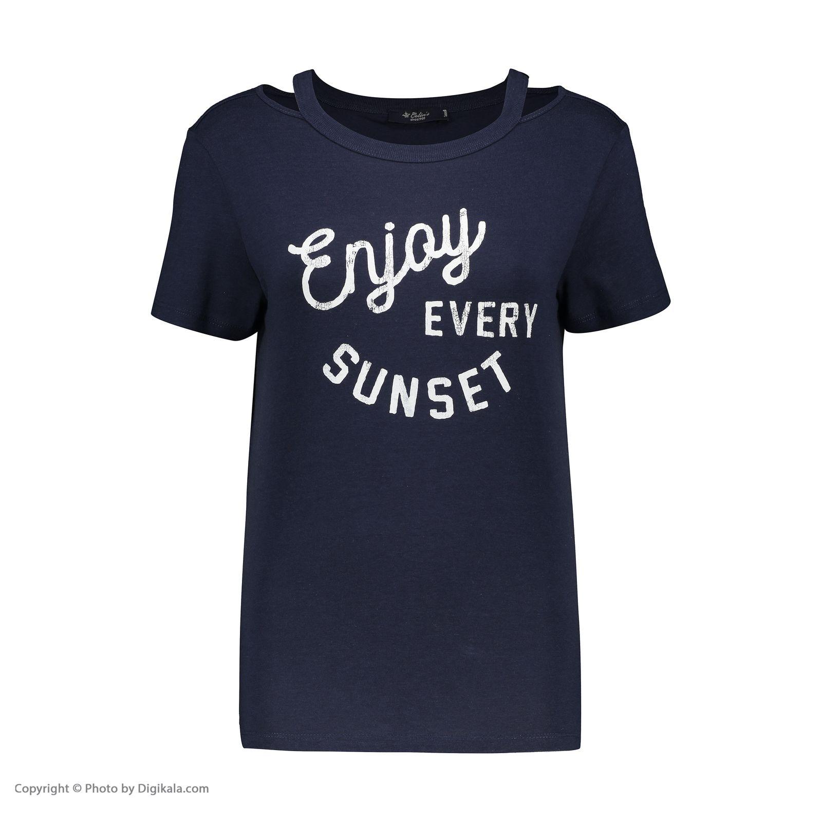 تی شرت زنانه کالینز مدل CL1032829-NAV main 1 1