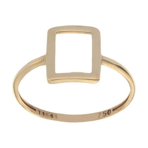 انگشتر طلا 18 عیار زنانه میو گلد مدل GD1186-55