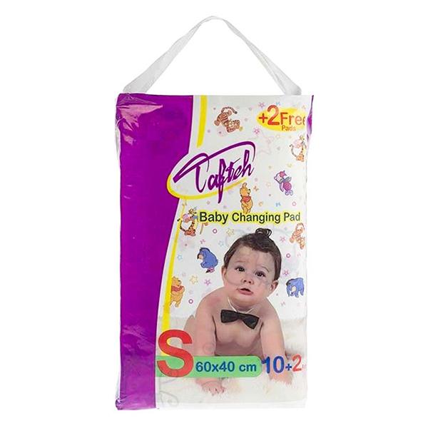 زیرانداز یکبار مصرف تعویض کودک تافته کد 525200 بسته 10 عددی به همراه 2 عدد رایگان