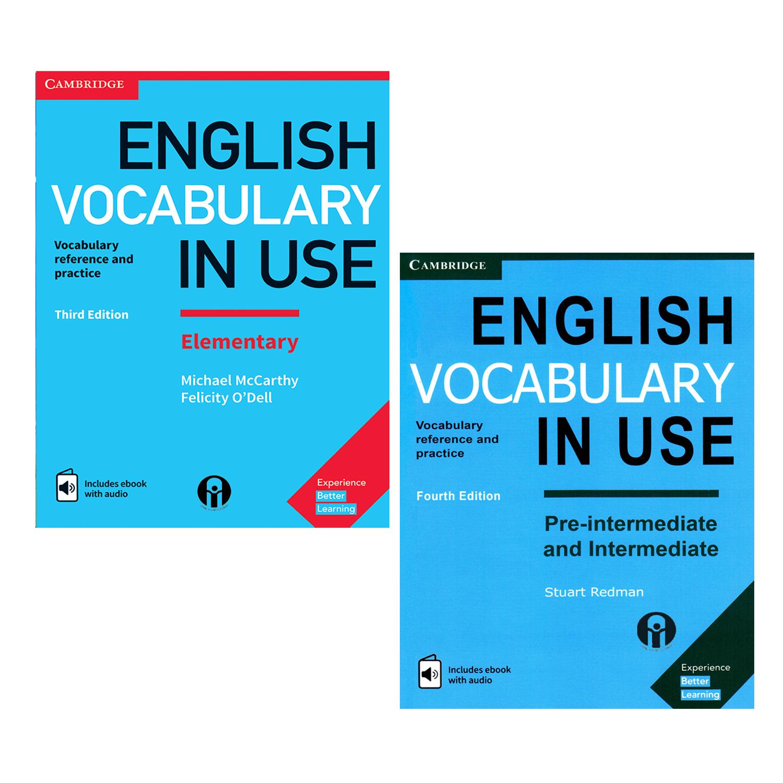 کتاب English Vocabulary In Use اثر جمعی از نویسندگان انتشارات الوندپویان 2جلدی