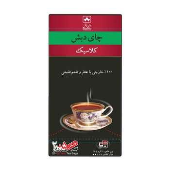 چای کیسه ای کلاسیک چای دبش بسته 25 عددی