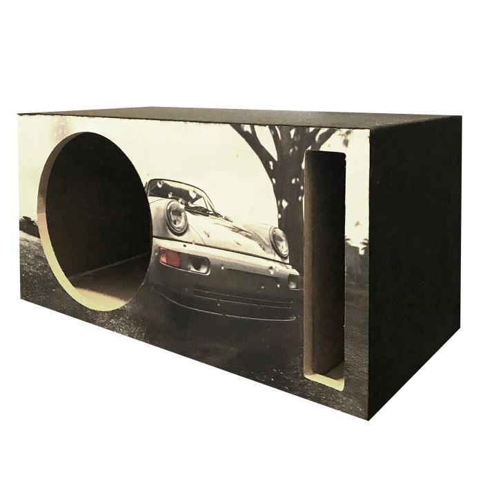 باکس ساب ووفر خودرو طرح مستطیلی مدل 70L مناسب برای ساب 12 اینچ