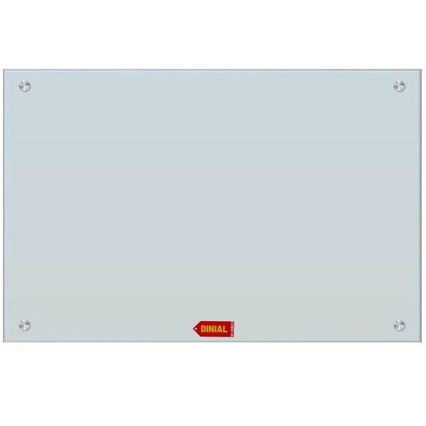 تخته وایت برد شیشه ای دینیال مدل 7347 سایز 60×80 سانتی متر