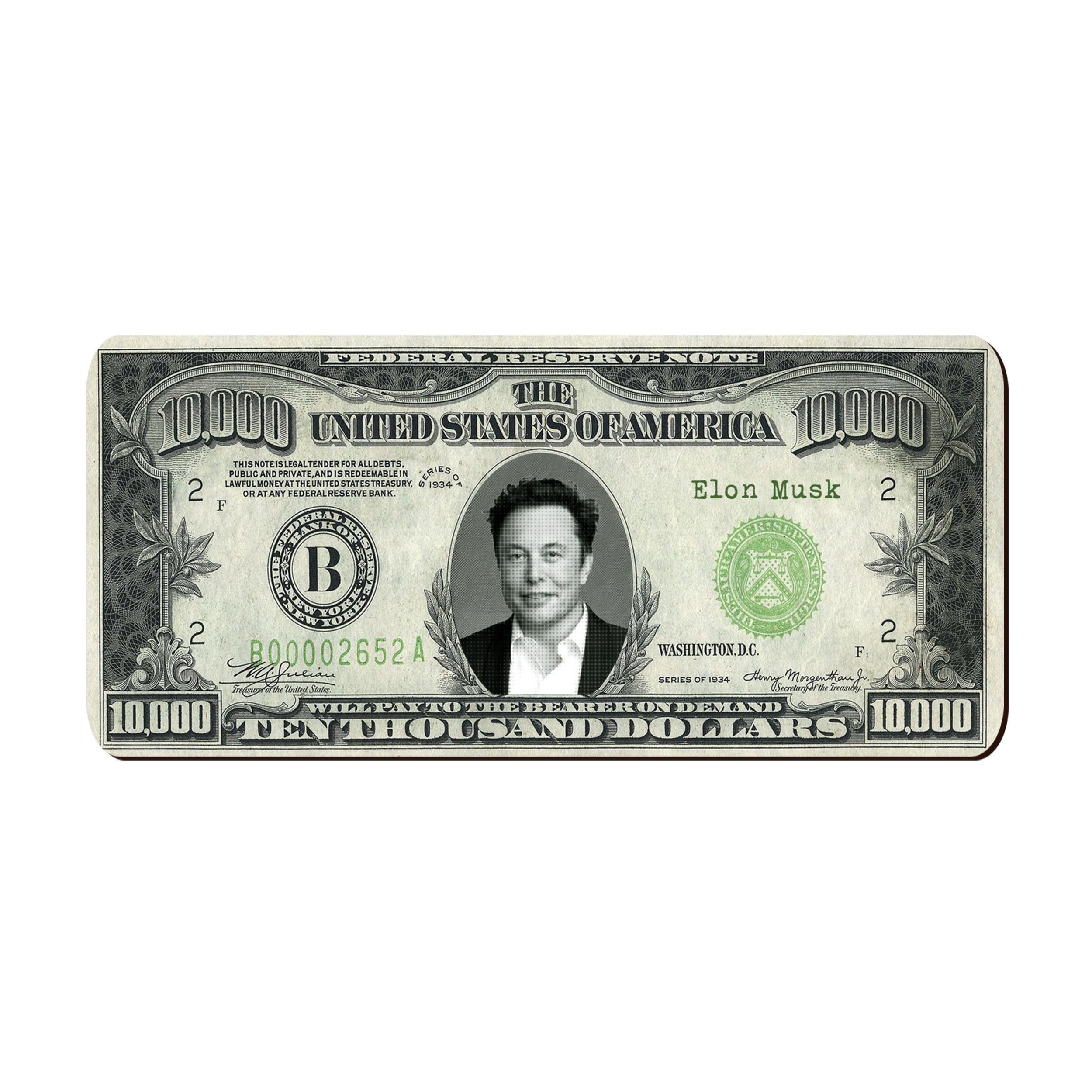 نشانگر کتاب لوکسینو  طرح Elon Musk مدل موفقیت