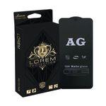 محافظ صفحه نمایش مات لورم مدل AGMATT001 مناسب برای گوشی موبایل سامسونگ Galaxy A20