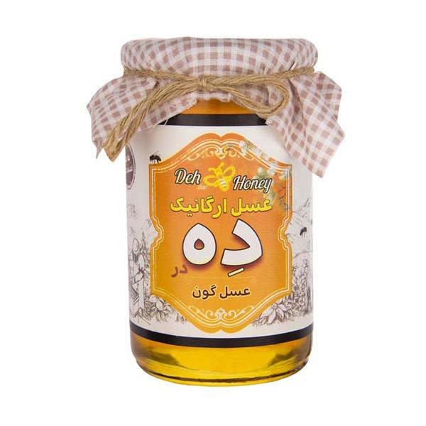 عسل گون ارگانیک ده در - 850 گرم