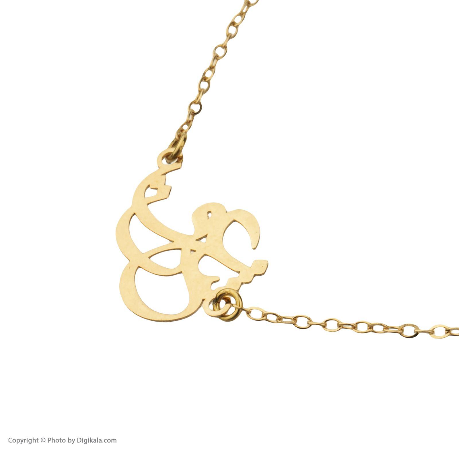 دستبند طلا 18 عیار زنانه میو گلد مدل GD606 -  - 4