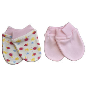 دستکش نوزادی مدل BK52021.5 مجموعه 2 عددی