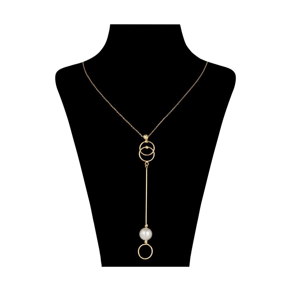 گردنبند طلا 18 عیار زنانه سیودو مدل 147025