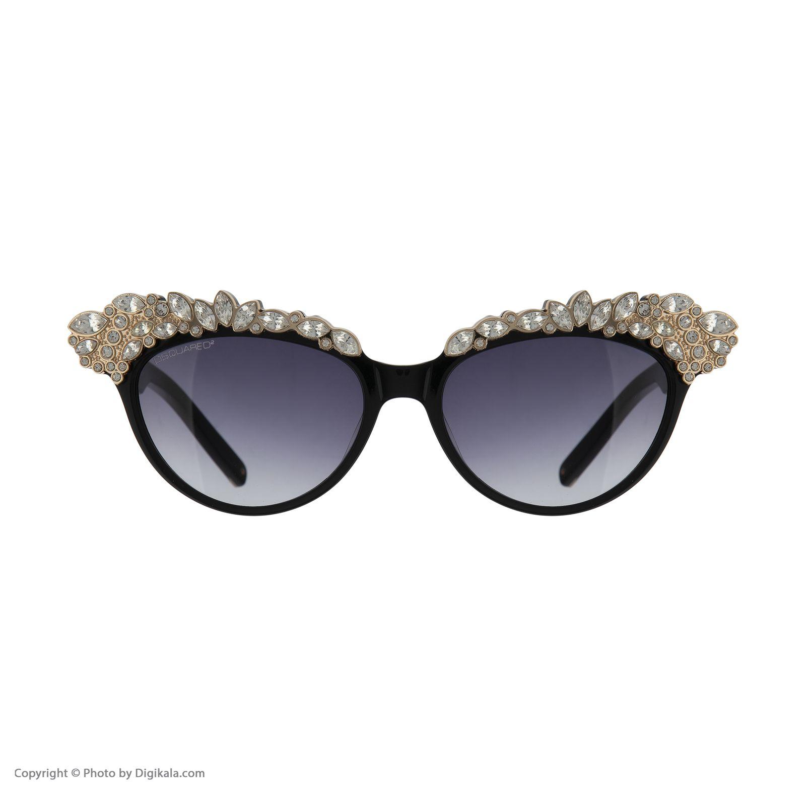 عینک آفتابی زنانه دیسکوارد مدل 0118 -  - 5