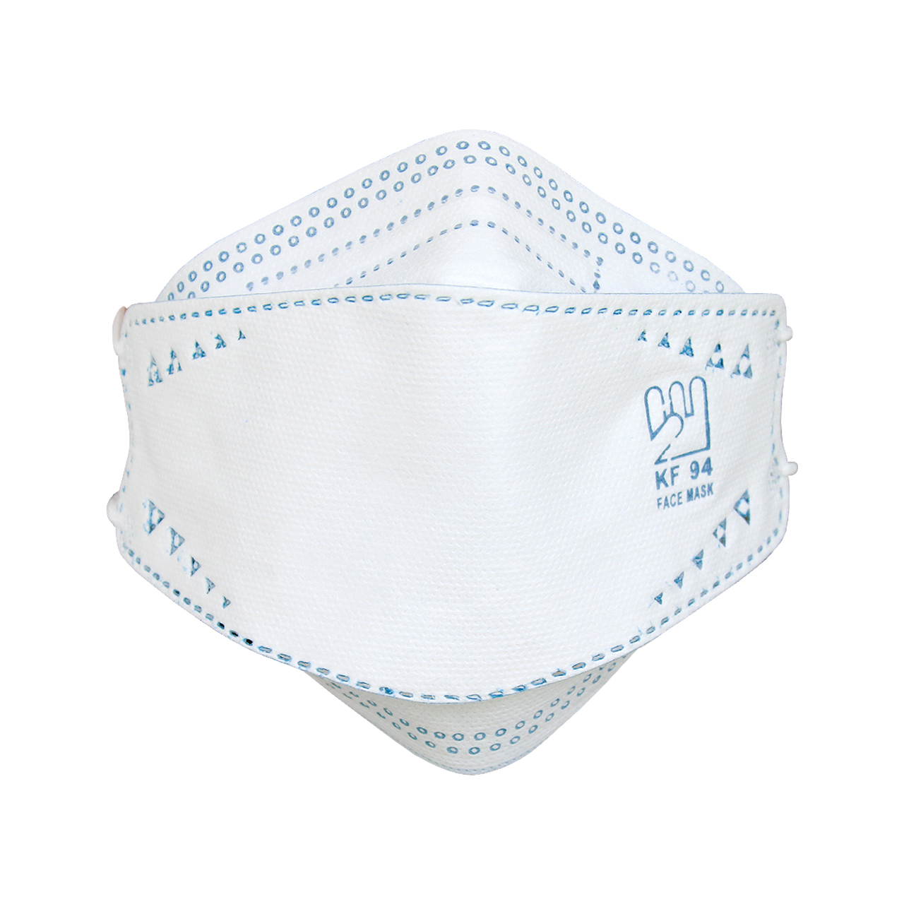 ماسک تنفسی بهسا مدل 3D-BSA-25-Blu بسته 25 عددی