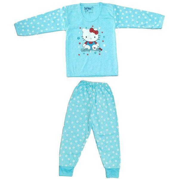 ست تی شرت و شلوار نوزادی کد 8877578 غیر اصل