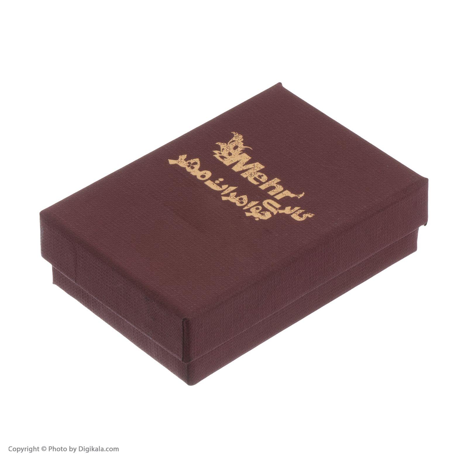 گوشواره طلا 18 عیار زنانه مایا ماهک مدل ME0845 -  - 6