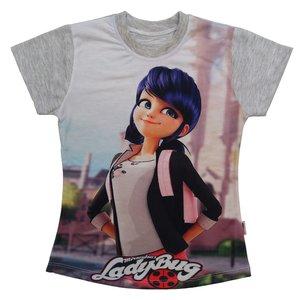تی شرت آستین کوتاه دخترانه مدل k551