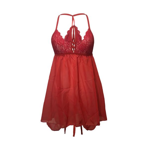 لباس خواب زنانه شیک فام کد 52388