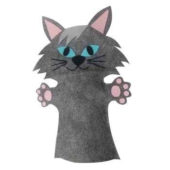 عروسک نمایشی مدل گربه