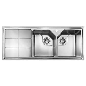 سینک ظرفشویی اخوان مدل 324 توکار