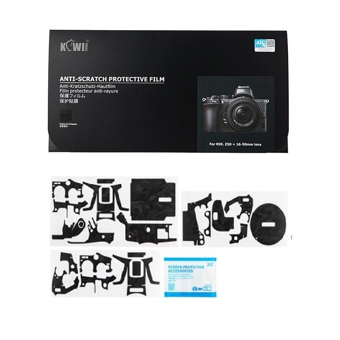 برچسب پوششی کی وی مدل KS-Z50SK مناسب برای دوربین عکاسی نیکون Z50