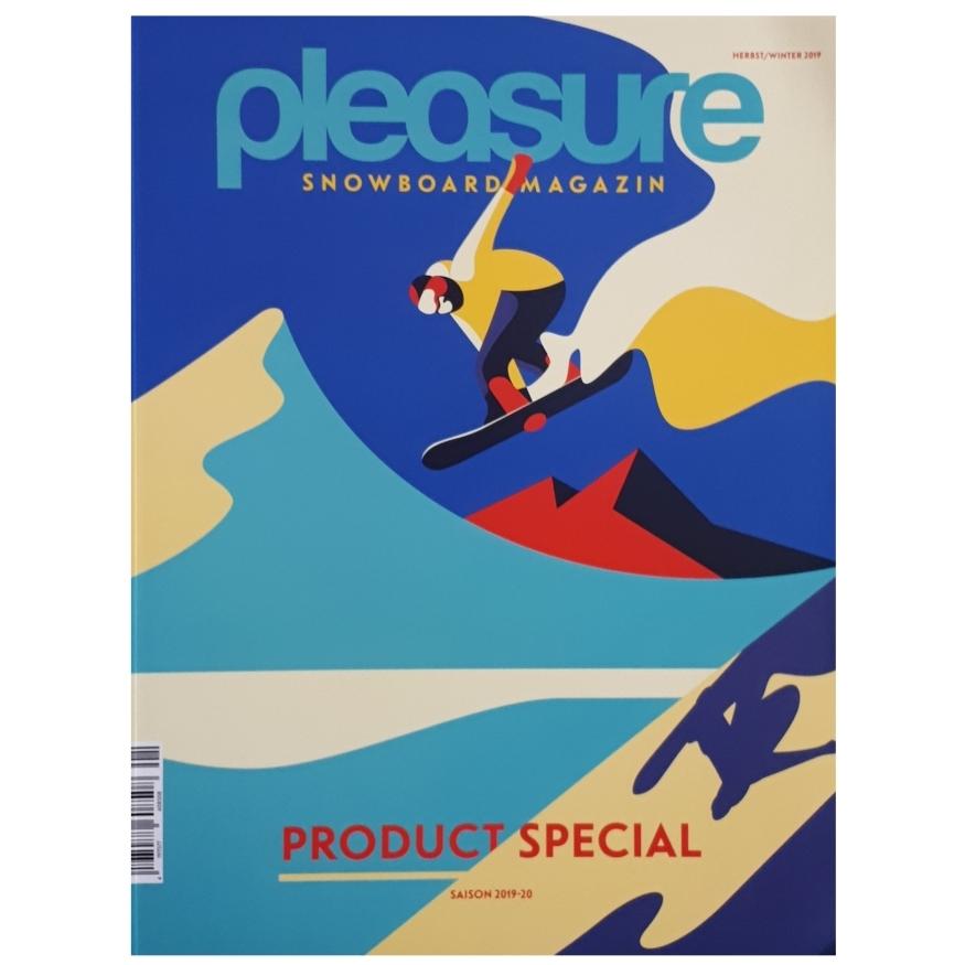 مجله Pleasure Snowboard سپتامبر 2019