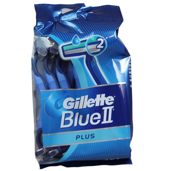 خود تراش ژیلت مدل Blue 2 Plus بسته 15 عددی