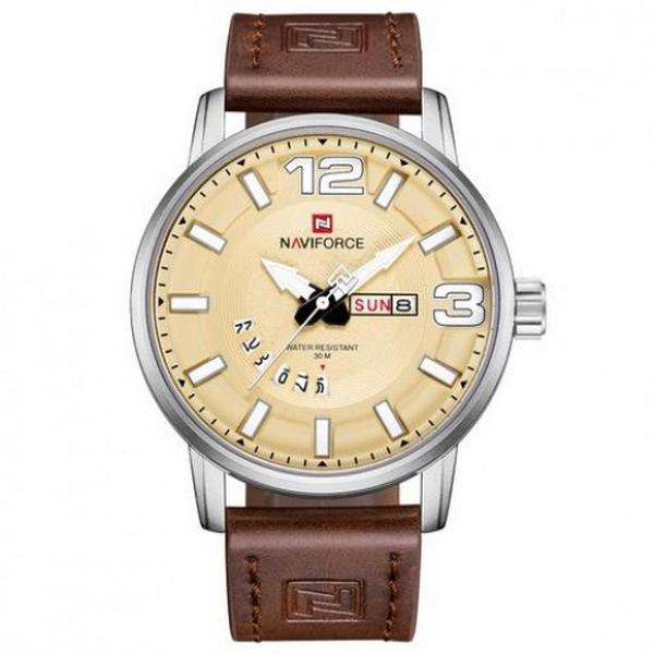 ساعت مچی عقربهای مردانه نیوی فورس مدل NF 9143
