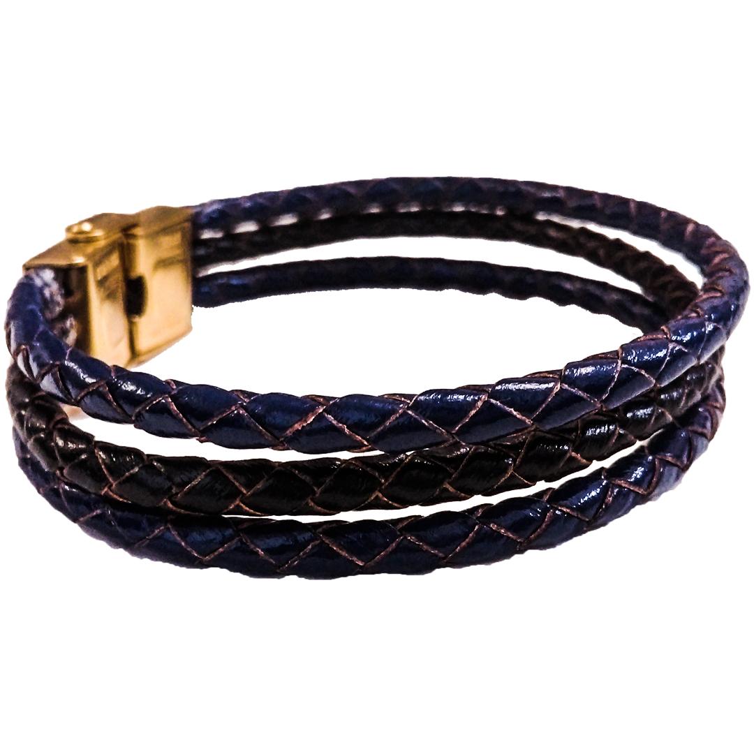 دستبند چرم وارک مدل دایان کد rb352 main 1 5