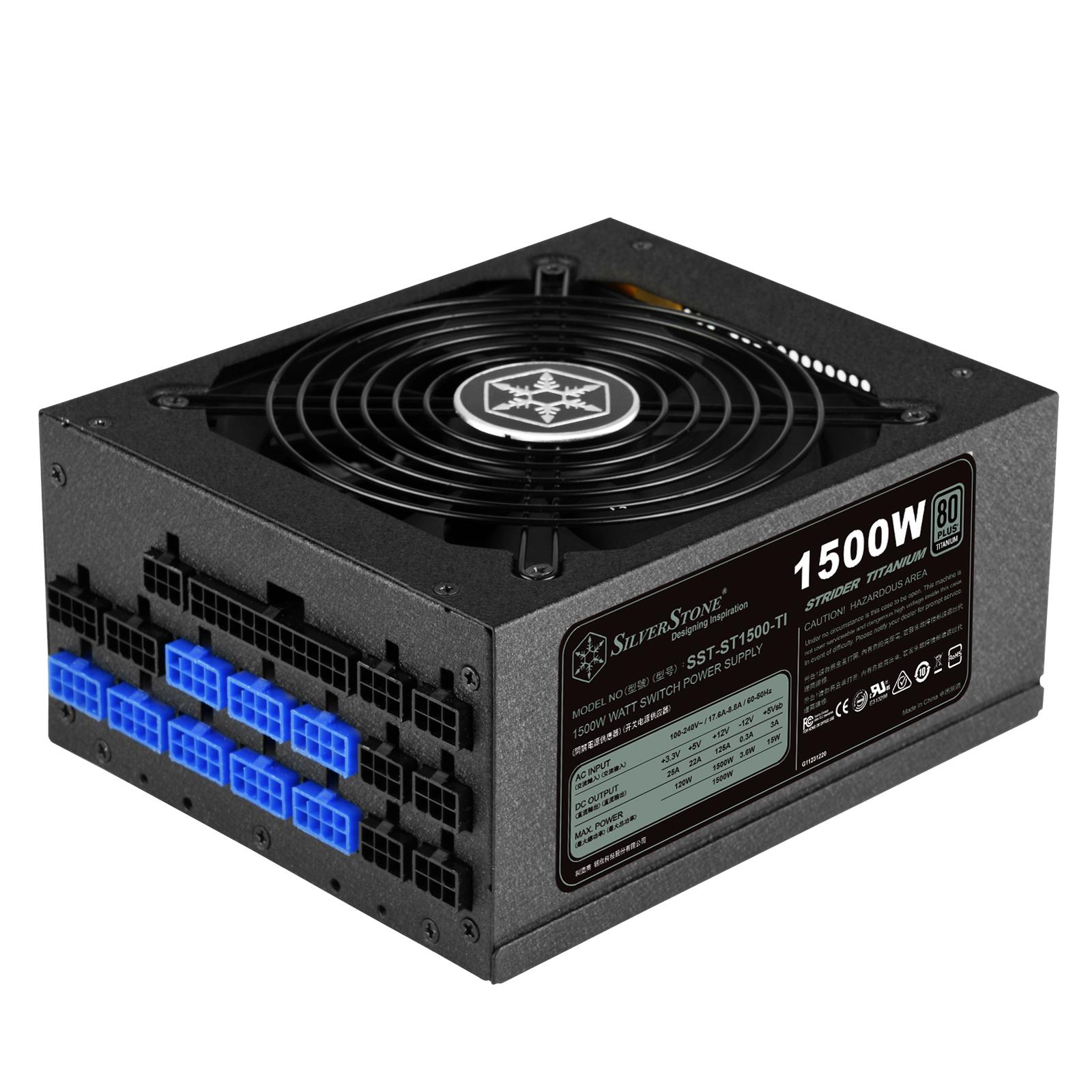 منبع تغذیه کامپیوتر سیلوراستون مدل SST-ST1500-TI