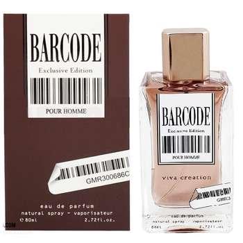 ادو پرفیوم مردانه ویوا کریشن مدل BARCODE Exlusive Edition حجم 80 میلی لیتر