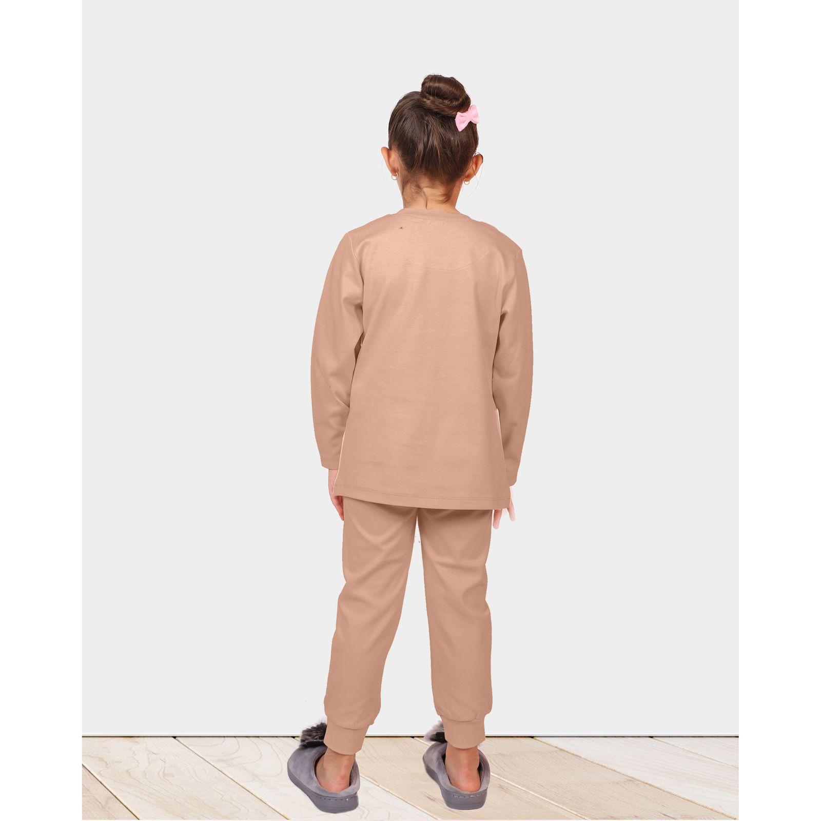 ست تی شرت و شلوار دخترانه مادر مدل 301-80 main 1 8