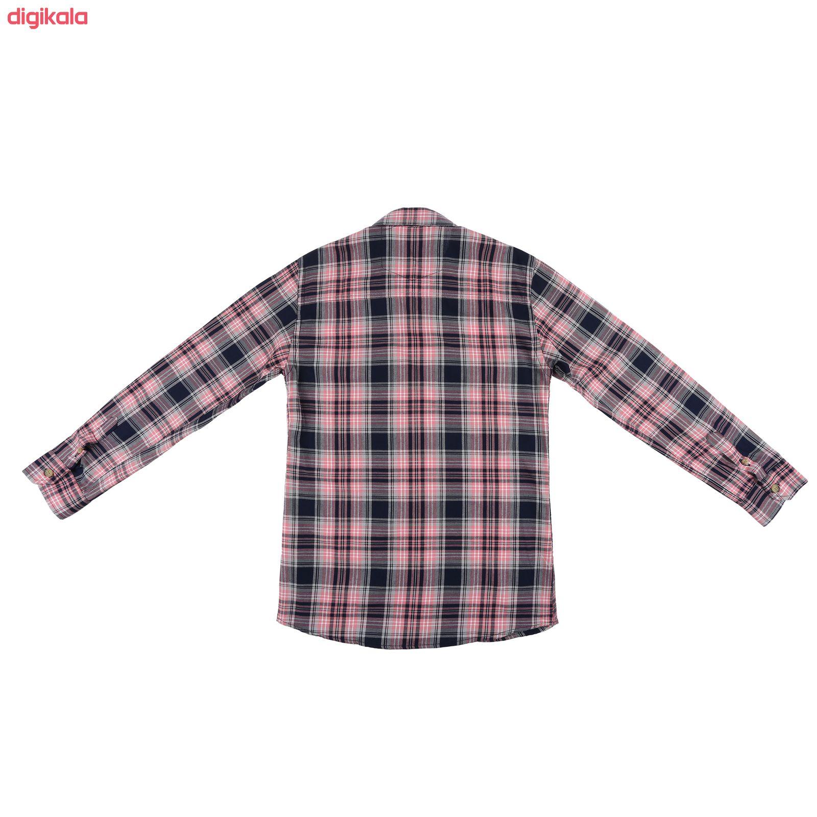 پیراهن پسرانه ناوالس کد R-20119-PK main 1 2