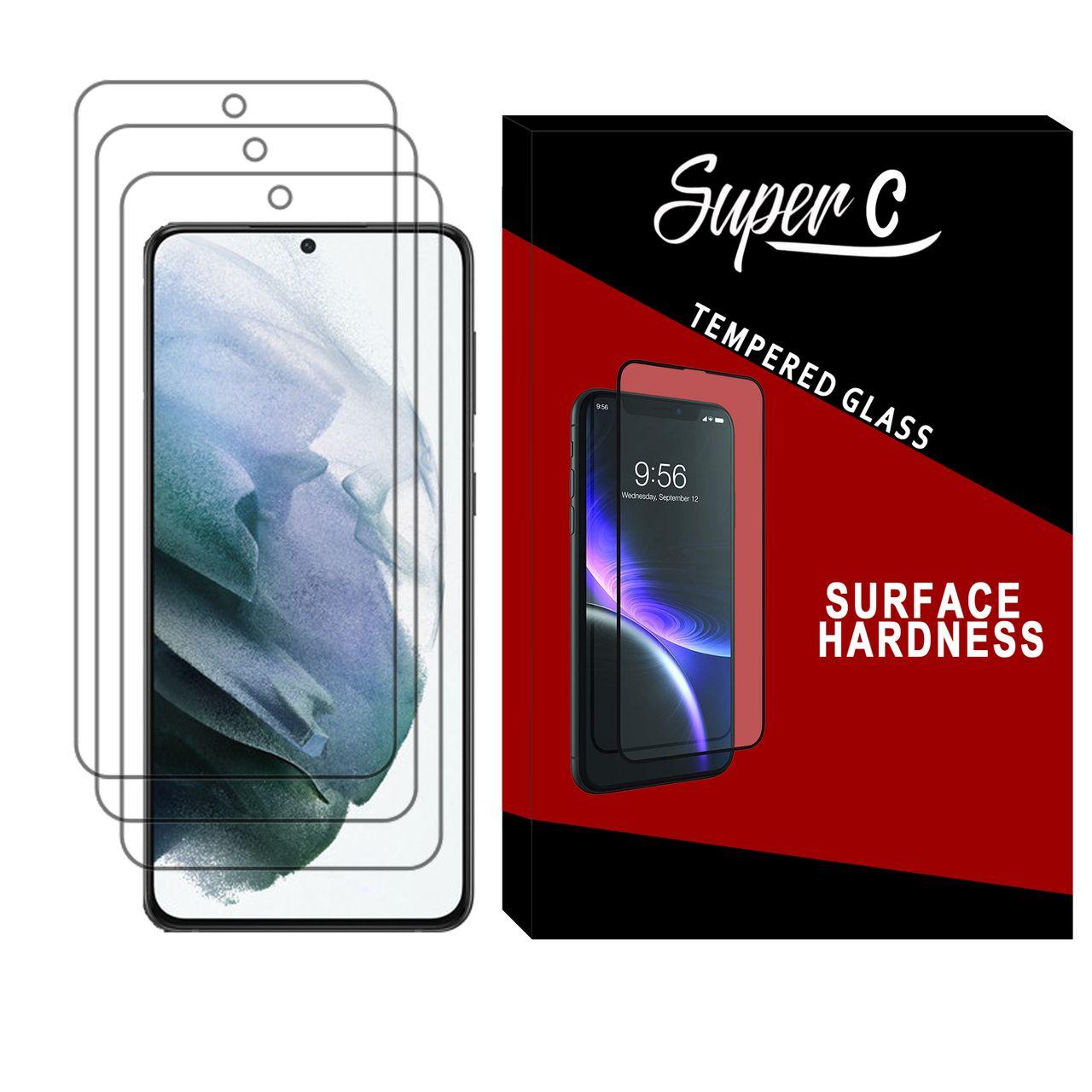 محافظ صفحه نمایش سوپر سی مدل SD-03 مناسب برای گوشی موبایل سامسونگ Galaxy S21 Plus بسته سه عددی
