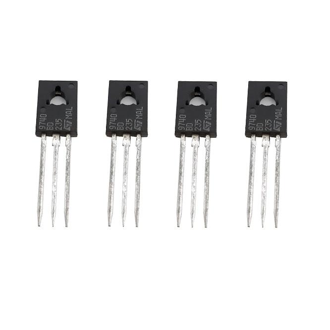 ترانزیستور اس تی  مدل BD235 بسته 4 عددی