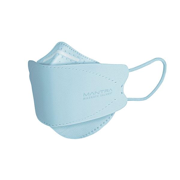 ماسک تنفسی مانترا مدل سه بعدی پنج لایه بسته ۲۵ عددی
