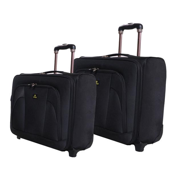 مجموعه دو عددی چمدان خلبانی لیزا مدل LEN22