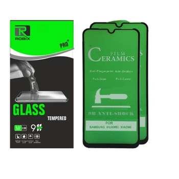 محافظ صفحه نمایش روبیکس مدل CERA50 مناسب برای گوشی موبایل سامسونگ Galaxy A20 / A30 / A30s / A50 بسته دو عددی